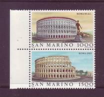 San Marino 1985 - Roma Antica E Moderna, 2v Nuovi ** Integri - San Marino