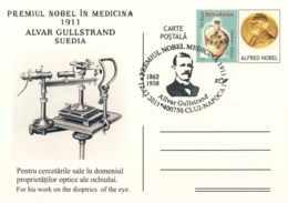 522 Allvar Gullstrand, Prix Nobel De Physiologie Ou Médecine 1911. Ophtalmologie Optique. Physics Optics Eye Einstein(!) - Medizin
