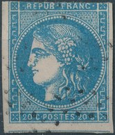 1870 - Mi 41, Yt 44 - Oblitere - 1863-1870 Napoleon III With Laurels