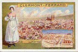 CLERMONT FERRAND(PUBLICITE ETABLISSEMENT BERGOUGNAN) - Clermont Ferrand
