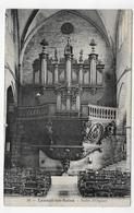 (RECTO / VERSO) LUXEUIL LES BAINS EN 1907 - N° 34 - BUFFET D' ORGUES - ORGAN - CPA VOYAGEE - Luxeuil Les Bains
