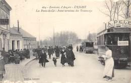 49-ERIGNE- LES PONT DE CE - POINT TERMINUS DES TRAMWAYS - Andere Gemeenten