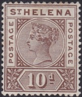 St Helena     .   SG     .    52   .   *       .     Mint-hinged   .   /    .  Ongebruikt - Sint-Helena
