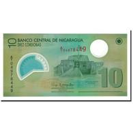 Billet, Nicaragua, 10 Cordobas, 2012, KM:201, NEUF - Nicaragua