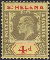 St Helena     .   SG     .    66   .   *       .     Mint-hinged   .   /    .  Ongebruikt - Sint-Helena