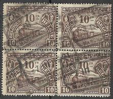 8Bv-802: Bl.v4 N° TR125: FOREST.... - 1915-1921