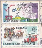 BELGIO 1979 Europa 2 Valori. - Usati