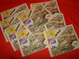 """Lot De 8 Magazines """" Total Journal """" N° 30 De Novembre - Décembre 1962 ( François à Venise ) - Books, Magazines, Comics"""