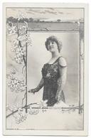 Cpa: ARTISTE - MEGARD (Comédienne) Photo L. Combe, Paris  27 ème Série N° 21 (Art Nouveau) - Artisti