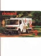 Germany, Transport Magnetic Card Eismann,  Auto, Gebraucht-oblitérée - Moteurs