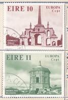 IRLANDA 1978 Europa 2 Valori. - Usati
