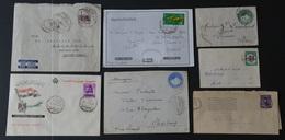 Egypte Lot De 7 Documents Divers Voir Scan - Égypte