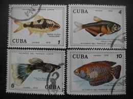 CUBA Série N°2058 Au 2061 Oblitéré - Stamps