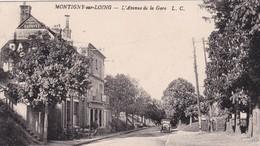 77 / MONTIGNY SUR LOING / L AVENUE DE LA GARE / VOITURE - Other Municipalities