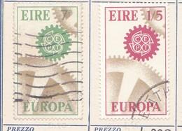 IRLANDA 1967 Europa 2 Valori. - 1949-... Repubblica D'Irlanda
