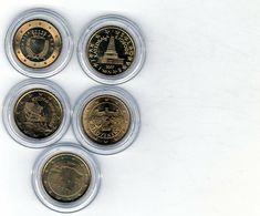 Lot De 5 Pièces De 10 Centimes D'euro - Malte 2008 - Slovaquie 2009 - Slovénie 2007 - Chypre 2008 - Estonie 2011 - Dans - Altri