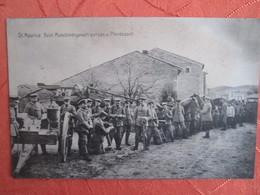 St Maurice . Beim Maschinengewehrputzen U Pferdeapell  . A Situer ? - Guerres - Autres