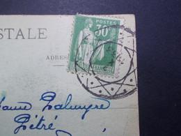 Marcophilie  Cachet Lettre Obliteration - Cachet Sur Timbre à Définir - 1933 (2312) - 1921-1960: Période Moderne
