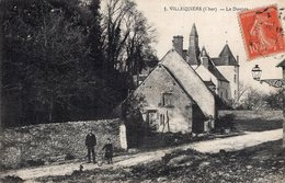 S1736 Cpa 18 Villequiers - Le Donjon - France