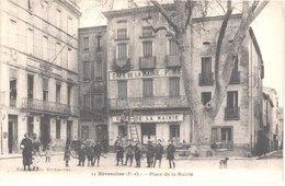 FR66 RIVESALTES - Pujol 11 - Place De La Mairie - Café - Animée - Belle - Rivesaltes