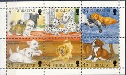 +Gibraltar 1996. Puppets. Sheetlet. Michel 749-54. MNH(**) - Gibilterra