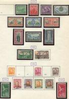 12236 NOUVELLE ZELANDE Collection Vendue Par Page N° 273/82, 283/4, 285,288,290/4, 295/6 */ ° 1946-47  B/TB - Collections, Lots & Series