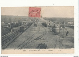 92 CHAVILLE VELIZY LA GARE  CPA BON ETAT - Chaville