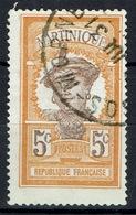Martinique, Martiniquaise Woman, 5c, 1922, VFU  Nice Postmark - Martinique (1886-1947)
