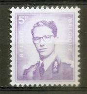 BELGIE Boudewijn Bril * Nr 1029 * Postfris Xx * WIT  PAPIER - 1953-1972 Glasses