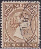Falkland  Islands    .   SG     .   38     .       O     .   Cancelled     .   /    .   Gebruikt - Falklandeilanden