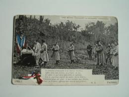 Guerre 14.18 Ajouti Croix Drapeaux Francais Messe Plein Air - Guerre 1914-18