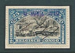 Congo Belge Nr 22 Met Penontwaarding En Stempel 6 May 1916 - Congo Belge