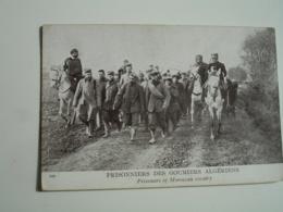 Guerre 14.18 Prisonniers Des Goumiers Algeriens - Weltkrieg 1914-18