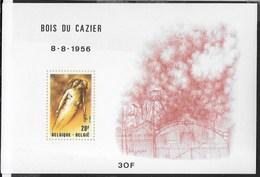 BELGIO - BOIS DU CAZIER -25° DISASTRO DI MARCINELLE - BLOCCO-FOGLIETTO  1981 (YVERT 57 - MICHEL 51) - NUOVO ** - Foglietti