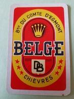 Brasserie Du Comte D'egmont Chiévres Une Carte à Jouer Jeu Cartes - Otros