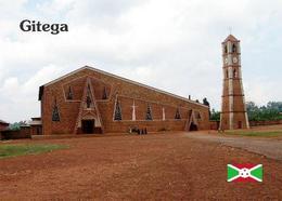 Burundi Gitega Church New Postcard - Burundi