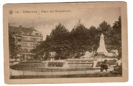 Schaerbeek - Place Des Bienfaiteurs - Edit.  F. Walschaerts N° 443 - 2 Scans - Schaarbeek - Schaerbeek