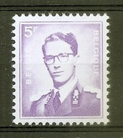 BELGIE Boudewijn Bril * Nr 1029 P3 * Postfris Xx * FLUOR  PAPIER - 1953-1972 Lunettes