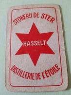Distillerie De L'étoile  Hasselt Une Carte à Jouer Jeu Cartes - Other