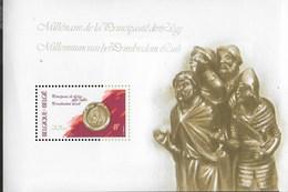 BELGIO - MILLENARIO PRINCIPATO DI LIEGI - BLOCCO FOGLIETTO 1980 (YVERT 56 - MICHEL 50) - NUOVO ** - Foglietti