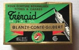TRERAID DE 1/2 à 2 1/2  M/m BOITE 36 PLUMES N° 1800 A 1805 - BLANZY-CONTE-GILBERT - BOITE NON OUVERTE - Pens