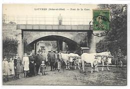 LOUVRES - Pont De La Gare - Louvres