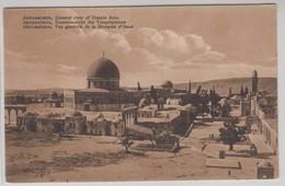 Jerusalem General View Of Temple Area - Israele