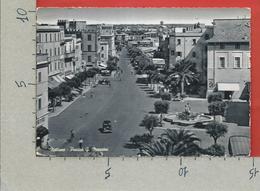 CARTOLINA VG ITALIA - NETTUNO (ROMA) - Piazza G. Mazzini - 10 X 15 - ANN. 1956 - Roma