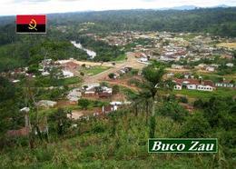 Angola Cabinda Exclave Buco Zau Aerial View New Postcard - Angola