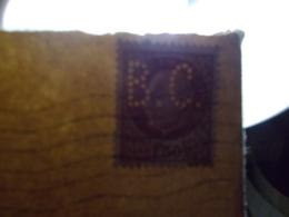 Marcophilie  Cachet Lettre Obliteration - Timbres Perforés BC - Paris 1943 (2322) - Marcophilie (Lettres)