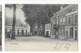 """Ginneken  ( M 4726 )  Cafe """" In De Vrachtwagen""""  Op Linke Hoek Van De Markt - Breda"""
