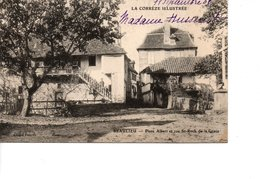 CPA Corrèze  BEAULIEU Place Albert Et Rue St Roch De La Grave - Autres Communes