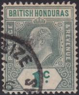British Honduras    .   SG     .    84     .      O     .   Cancelled         .   /    .  Gebruikt - Brits-Honduras (...-1970)