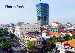 Cambodia Phnom Penh Tower New Postcard Kambodscha AK - Kambodscha